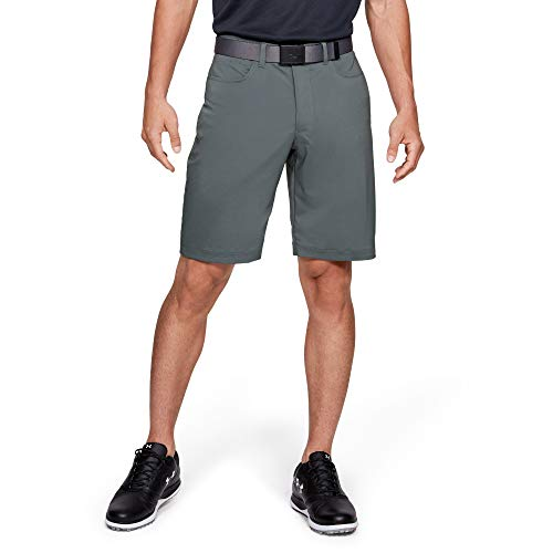 Under Armour Men's Tech Golf Shorts, Pitch Gray (012)/Pitch Gray, 30