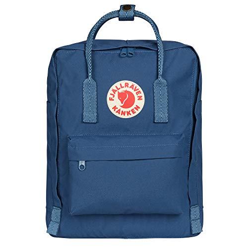 Fjallraven, Kanken Classic Backpack for Everyday, Royal Blue/Goose Eye