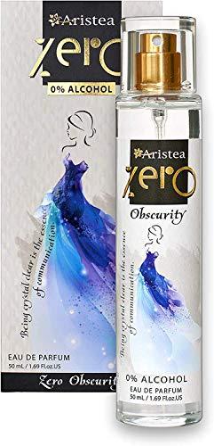 Aristea - Parfüm Damen Zero Obscurity, Eau de Parfum ohne Alkohol, blumig-pudrige Damenduft (1 x 50 ml)