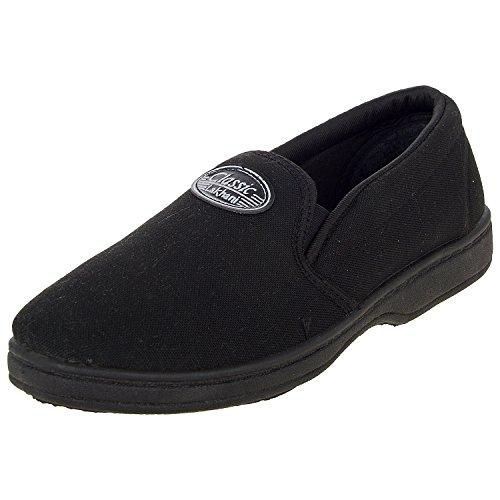 Lakhani Men's Black Running Shoes - 6 UK