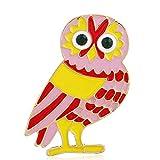 shengying Accesorios de artesanía de Goteo de Color búho Broche de Dibujos Animados Broche de joyería