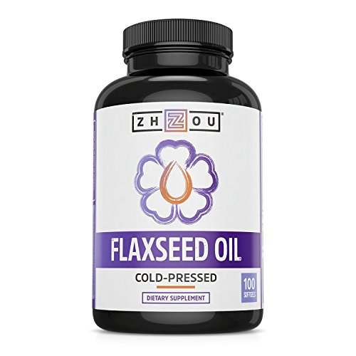 Flaxseed Oil Softgels To Promote A Healthy Heart, Glowing Skin, and Strong...