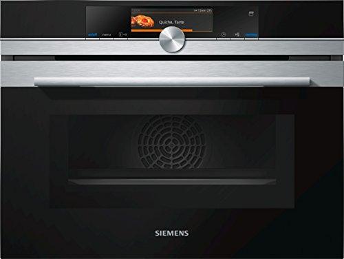 Siemens-lb iq700 CN678g4s6  | Horno compacto con microondas con limpieza pirolítica, Home connect y 15 funciones de cocción.