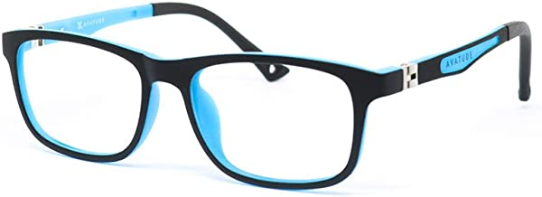 "AVATUDE™ Kids Blue Light Computer Glasses ""Cobalt"" - Hard Case Included!"