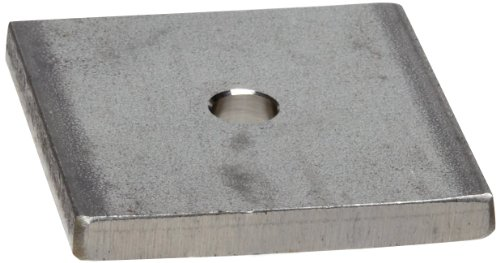 Flat Washer, 18-8 Stainless Steel, Square, 1/4