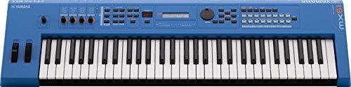 Review Yamaha MX61 Music Production Synthesizer, Blue