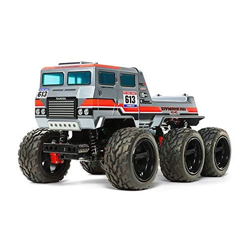 TAMIYA 58660 - 1:18 RC Dynahead 6x6 (G6-01TR), ferngesteuertes Auto/ Fahrzeug, Modellbau, Bausatz, Hobby, Basteln, Modell, Zusammenbauen