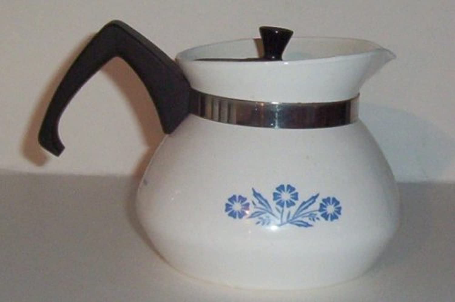 Corning bluee Cornflower Mini Teapot Tea Pot and Lid (3 cup)