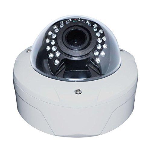 Yuany Camera, 360 graden groothoeklens 2.0MP 1080P IP fisheye panorama vandaalbestendige dome camera met 30 stks IR leds