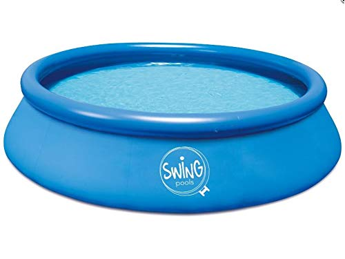 Mountfield Swing Splash Aufstellpool mit Kartuschenfilter 12V 2271 l/h, 366 cm x 91 cm