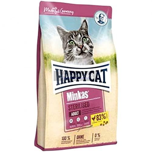 Happy Cat Minkas Sterilised Geflügel, 10 kg