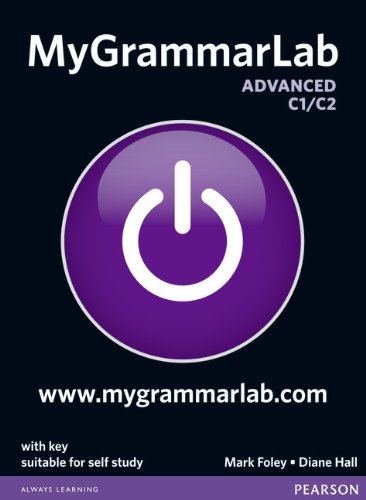 MyGrammarLab Advanced with Key and MyLab Pack [Lingua inglese]