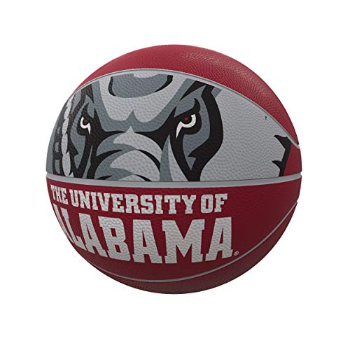 NCAA Alabama Tide Unisex Official-Size Rubber Basketballofficial-Size Rubber Basketball, Crimson, Official Size