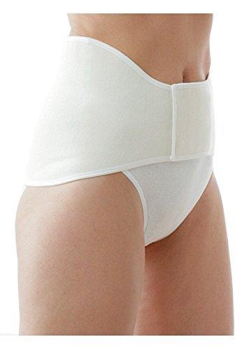 Medima Classic ThermoAS Rückenwärmer mit Klettverschluss, weiß - Größe L