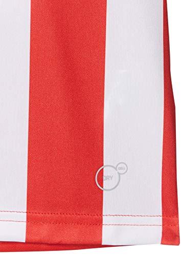 PUMJV|#Puma Kids LIGA Jersey Striped Jr Jersey - Puma Red-Puma White, 152