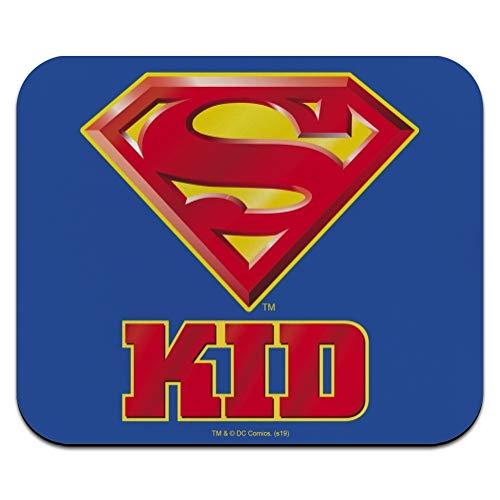 Superman Super Kid Shield Logo Low Profile Thin Mouse Pad Mousepad