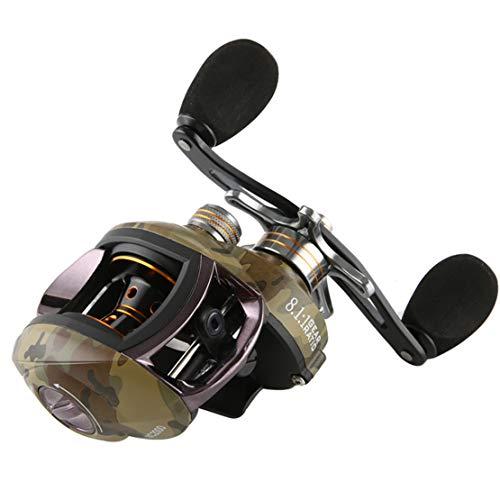 HiXB Carrete De Pesca Sistema De Freno MagnéTico Lews Baitc