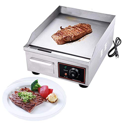 stainless griddle electric - 6