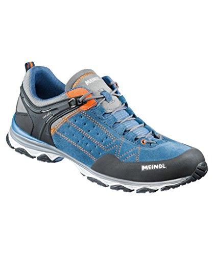 Meindl Chaussures de Patinage Unisexes, Jeans/Verte, 46,5