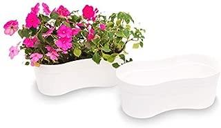 Matri-USA Plant Pot & Flower Window Box Sofia 14