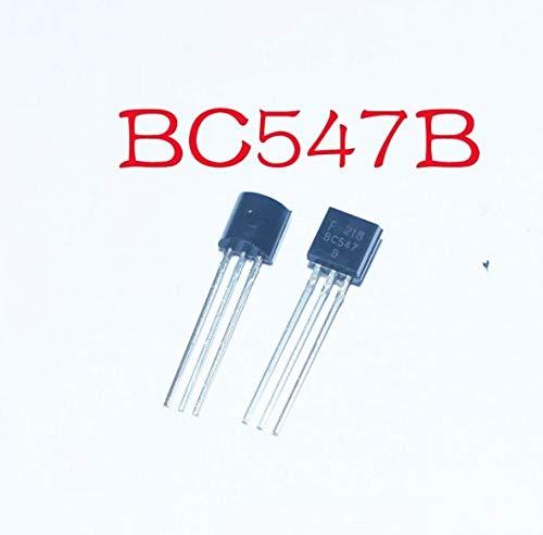 100 stücke BC547 BC547B NPN Transistor 45 V 0.1A TO-92 Paket
