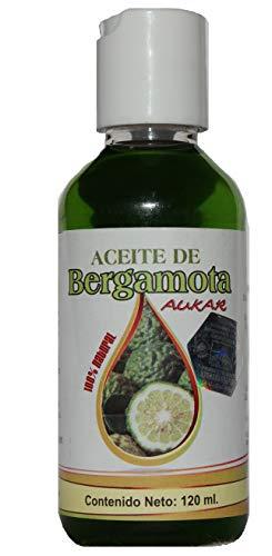Aceite de Bergamota AUKAR 100% Natural Bergamot Oil AUKAR 120 ml. Helps the Growth Hair, Beard and Mustache
