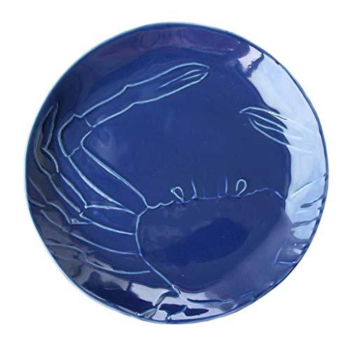 NO BRAND Inicio vajilla 8 Pulgadas de cerámica Placa de Ensalada Simple Occidental Vajilla por un Restaurante de Cocina Postre de la Fruta del Filete