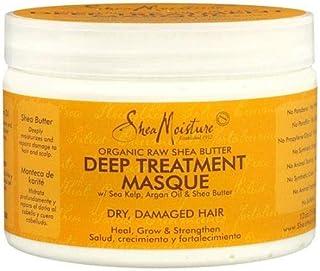 Shea Moisture Organic Raw Shea Butter Deep Treatment Hair Masque 12 Ounces