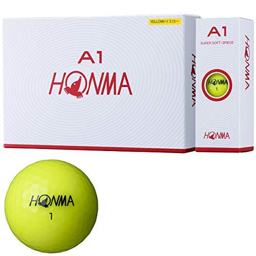 Honma Golf Ball A1 A1 BT1905 Yellow