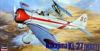 Hasegawa Nakajima Ki-27 (Nate) 1:48 Scale Military Model Kit