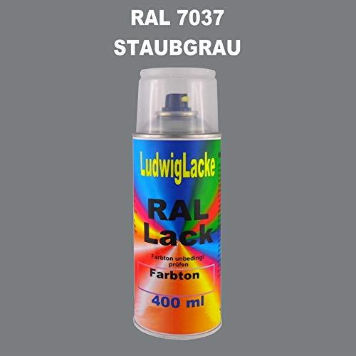 RAL 7037 STAUBGRAU Seidenmatt 400 ml 1K Spray