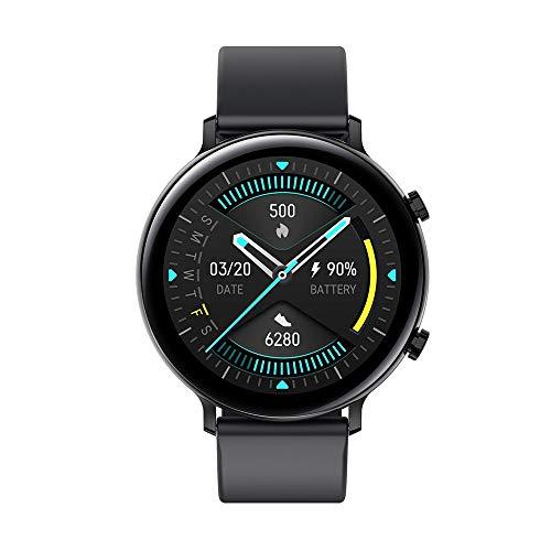 WuMei101 Pulsera de reloj inteligente Llamada Bluetooth ECG + PPG Presión arterial y monitoreo de oxígeno en la sangre, un reloj deportivo impermeable multifuncional compatible con teléfonos inteligen
