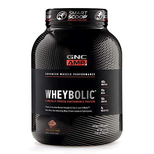 GNC Pro Performance AMP Amplified Whey-Bolic Extreme 60 Original Powder, Chocolate, 3 Pound