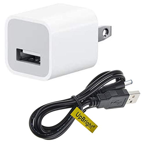 UpBright 5V AC/DC Adapter Charger + USB Charging...