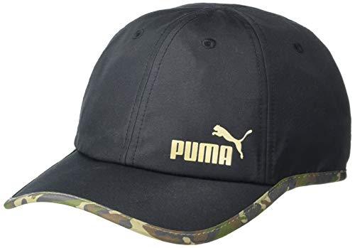 PUMA Women's Notion Running Adjustale Cap, Black Camo, One Size