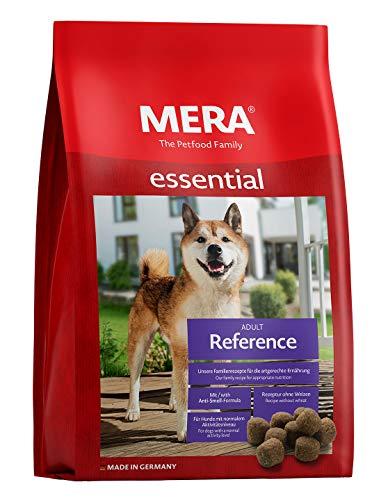 MERA essential Hundefutter > Reference < Für ausgewachsene Hunde mit normalem Aktivitätsniveau - Trockenfutter mit Geflügel - Ohne Weizen & Zucker (12,5 kg)