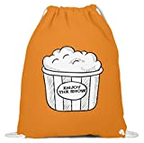 Shirtee Enjoy The Show - Bolsa de algodón para gimnasio, color naranja, tamaño 37cm-46cm