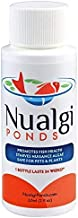 Nualgi Ponds - Natural Algae Control, Water Clarifier & Algaecide Alternate - 100% Safe for All Fish, Plants & Animals (1 x 60ml)