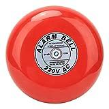 Campana de Alarma contra Incendios - CB-6B Campana de Alarma contra Incendios 150 mm 95dB Campana de Alarma de Ascensor de Edificio Industrial Rojo AC220V 60mA