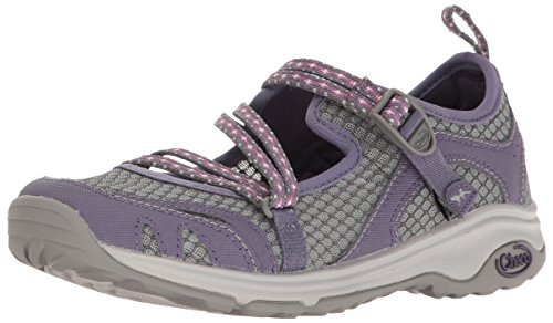 Chaco Women's Outcross EVO MJ Hiking Shoe, Quito Plum, 7 M US