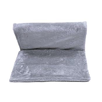OHANA Tapis de Fenêtre pour Chat, Hamac de Fenêtre Confortable, Radiateur Lit Solide et Durable à Suspendre 40 * 30 * 26cm Gris