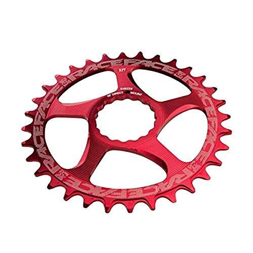 Race Face RNWDM30RED - Vassoio per pedaliera, Unisex, da Adulto, Colore: Rosso
