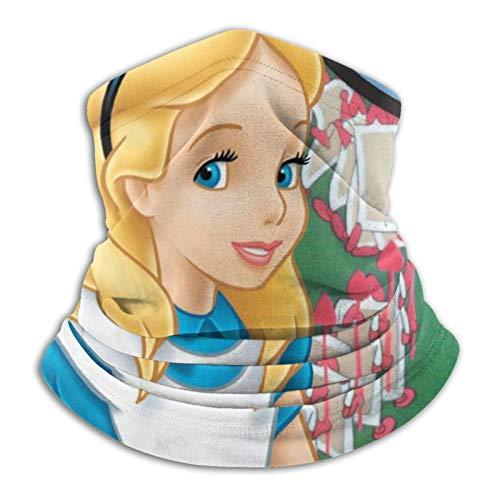 Custom made Alice In Wonderland Diadema Motociclismo Pasamontañas calentador de cuello de protección contra el frío multifuncional al aire libre impreso bandanas personalizados deportes