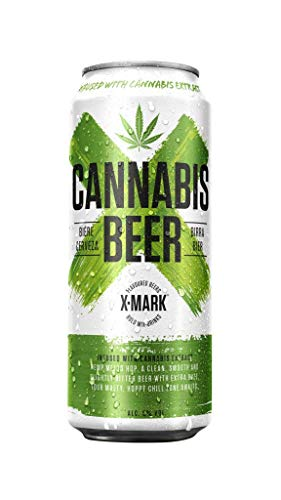 X-MARK Cannabis Beer 24x500 ml 4.8% (caja de 24 uds)