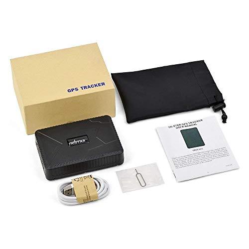 Localizador antirrobo por satélite GPS GSM TK915 batería 10.000 mAh 120 días imán potente CW391