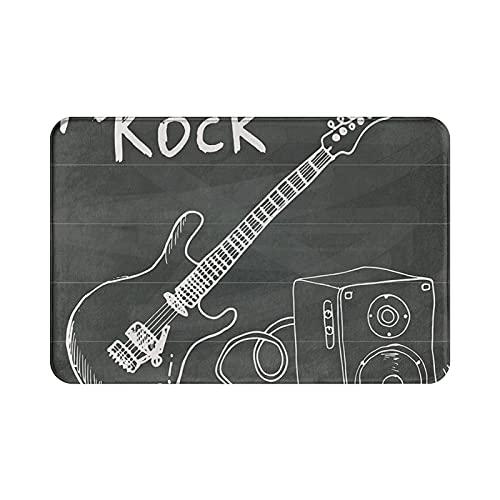 Love Rock - Felpudo para entrada (40 x 60 cm)