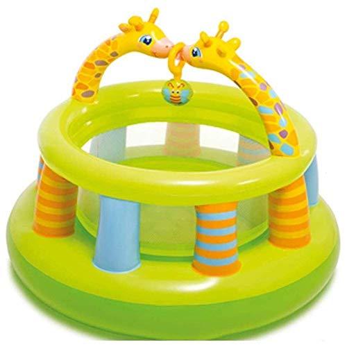 Zjcpow Piscina for niños, Piscina for niños, Piscina for niños, Play Play Fence Castillo de Juguete Inflable Juguetes Niños Dar a su Hijo lo Mejor (Tamaño: 122 * 89cm) xuwuhz