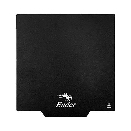 Creality Ender 3 Upgrade Druckbett, Magnetische Plattform, 235x235x1mm für Ender 3 / Ender 3Pro / Ender 3 V2/ Ender 5 / CR20 / CR20 Pro