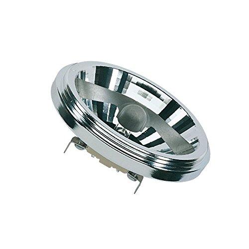 Osram Halospot Halogen-Reflektor, G53-Sockel, dimmbar, 12 Volt, 35 Watt - Ersatz für 50 Watt, 24 ° Abstrahlungswinkel, Warmweiß - 2900K