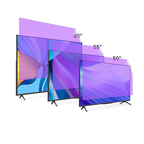 Película Anti-Azul Anti-Azul Anti-Azul De TV, Protector De Pantalla LCD TV Protector Antirreflejo/Anti Rayado para Sharp, Sony, Samsung, TCL, LG,50' 1101 * 620